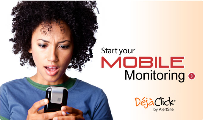 Start your Mobile Monitoring